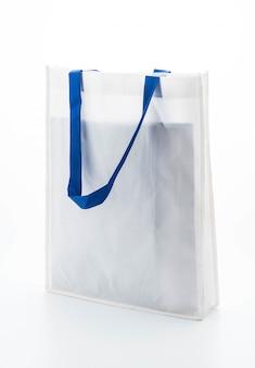 White fabric bag