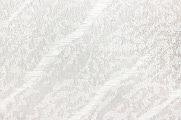 White fabric blind curtain texture