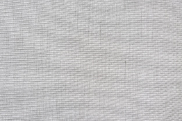 White fabric canvas texture pattern background