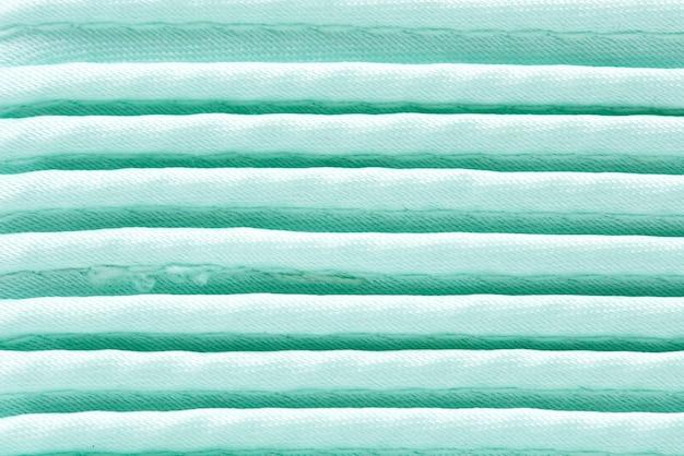 Primo piano tessuto bianco
