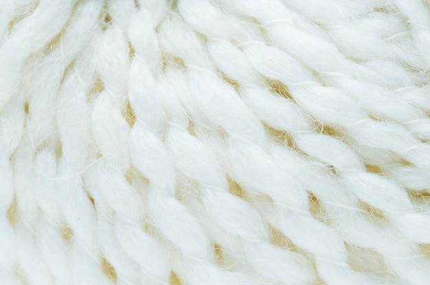 White fabric closeup