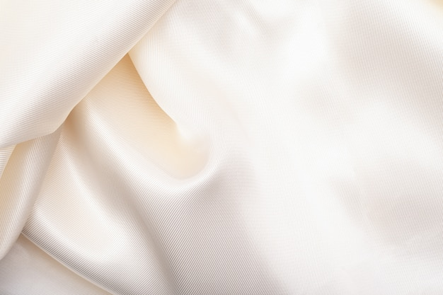 White fabric cloth texture as a background