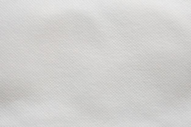 白い布のテクスチャパターン
