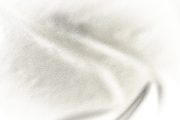 White fabric dirty texture background