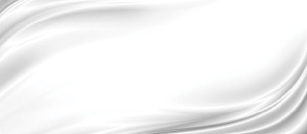 흰색 패브릭 질감 배경 3d 그림