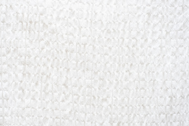 White fabric texture background. clean fabric