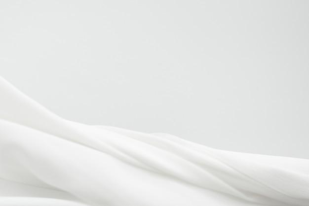 Elemento di disegno del fondo di struttura del tessuto bianco