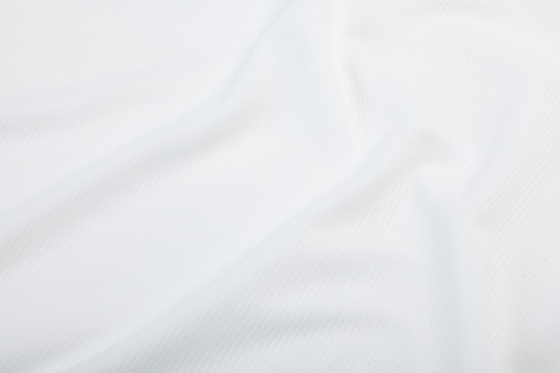 White fabric texture, cloth pattern background.
