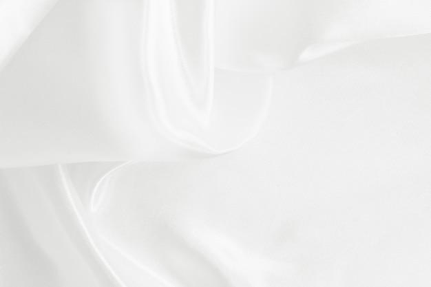 Белая текстура ткани для фона и дизайна
