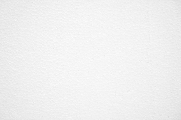 White foam board texture background, empty space.
