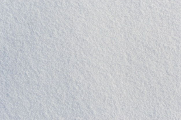 White fresh frosty snow texture top view background