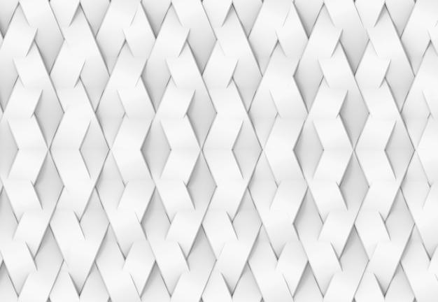 White geometric grid pattern texture.