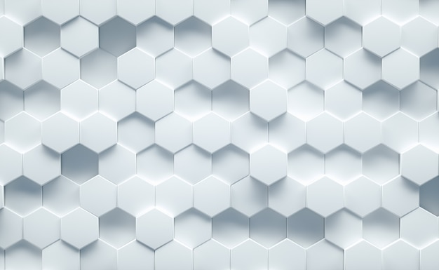 Белый геометрический фон структуры