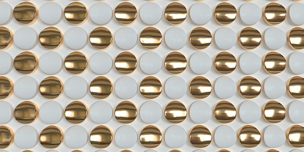 White and gold geometric pattern stylish texture and tile for your design