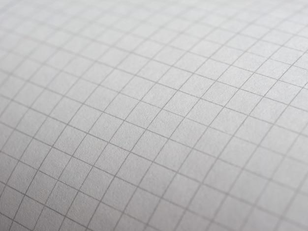 白い方眼紙のテクスチャ背景