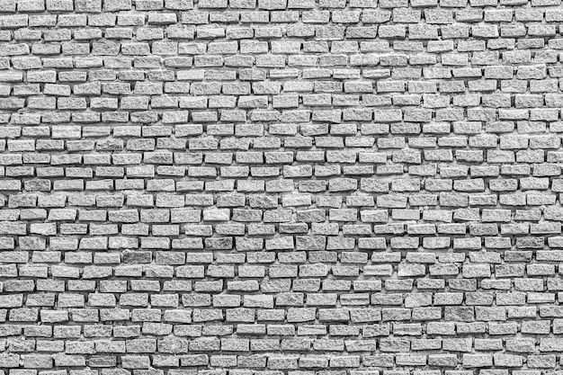 White and gray brick textures and background