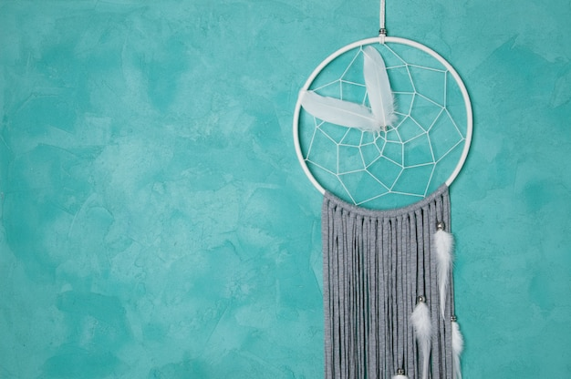 White gray dream catcher