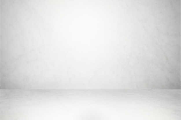 White and gray studio background
