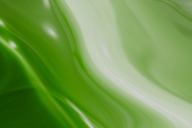 White and green swirl patterned background