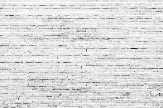 White and grey brick wall texture background