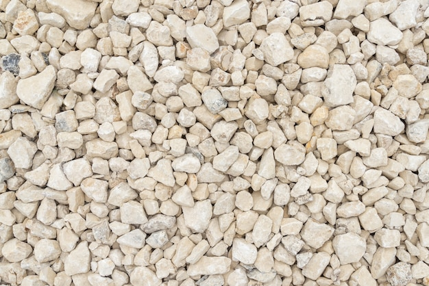White and grey sharp pebble texture