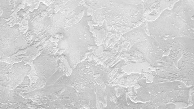 Белый серый текстурированный фон стены, полимерное декоративное покрытие для внутренних и наружных строительных работ