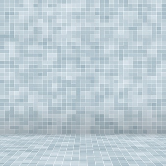 White and grey the tile wall high resolution wallpaper or brick seamless and texture interior backgr...