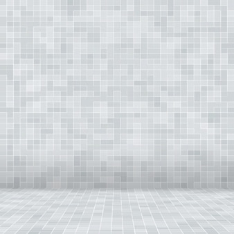 White and grey the tile wall high resolution wallpaper or brick seamless and texture interior