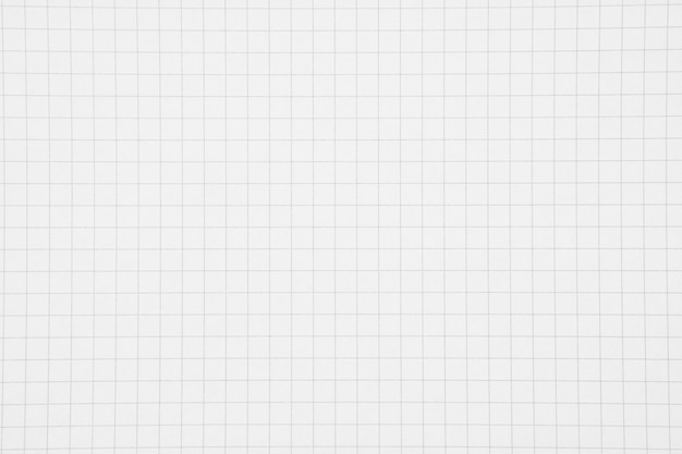 White grid paper background
