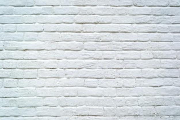 질감 또는 배경 흰색 그런 지 오래 된 벽돌 벽