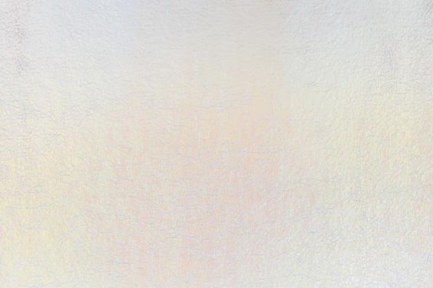 白いホログラフィックテクスチャ壁紙の背景