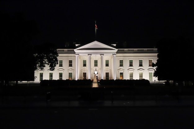 The white house in washington, united states