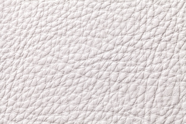 White leather textile background with pattern