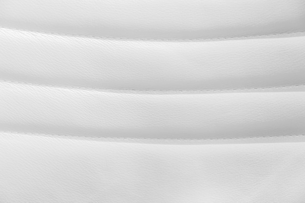 White leather and texture background.