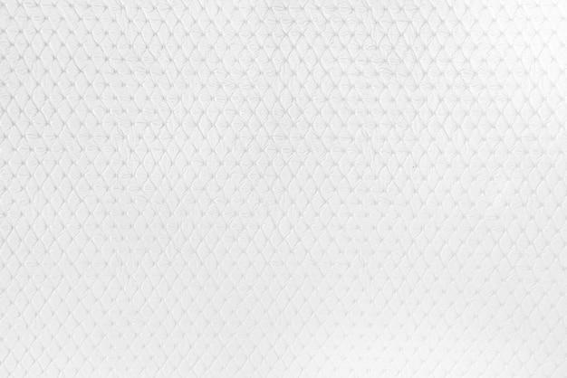 コピースペースのあるテーブルの白い革の質感の壁紙