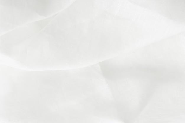 白いリネンテキスタイルテクスチャ背景