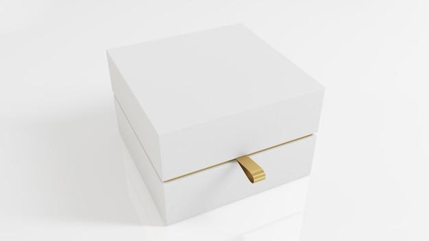 White luxury box