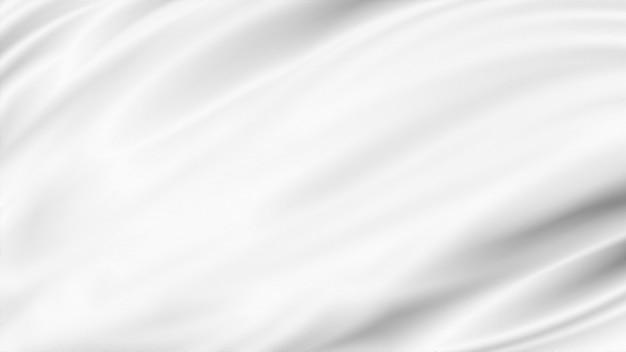 Белая роскошная ткань фон с копией пространства