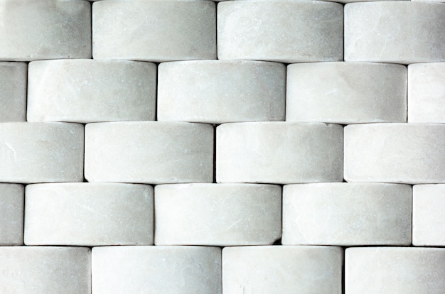 White marble from rectangle