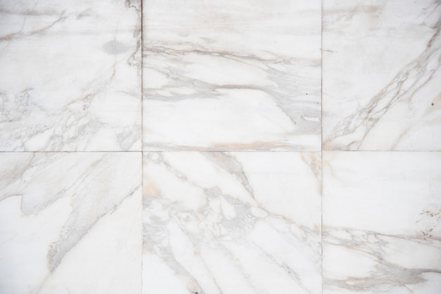 White marble plates background