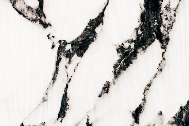 White marbled stone surface