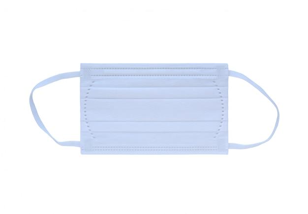 White medical shielding bandage isolated on white background