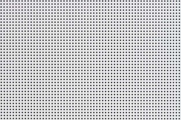 White metal plate pattern
