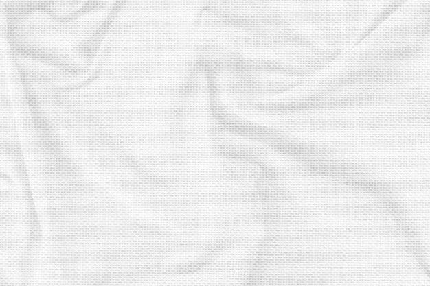 White microfiber fabric background
