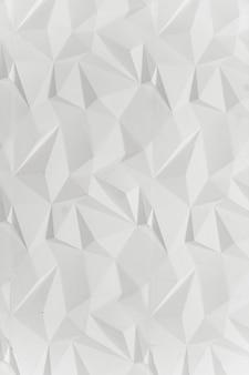 흰색 현대 삼각형 추상적인 배경, 그런 지 표면