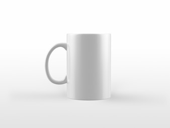 White Mug Mock-Up