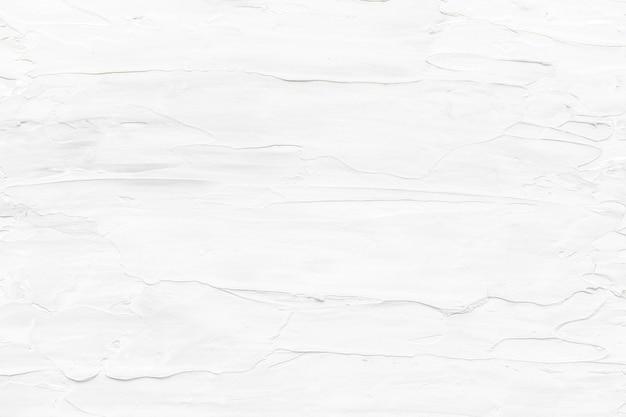 흰색 오일 페인트 브러시 스트로크 질감 배경