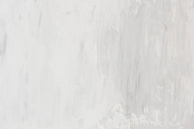 White oil paint brush stroke texture background