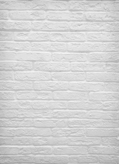 질감 또는 배경 흰색 오래 된 벽돌 벽