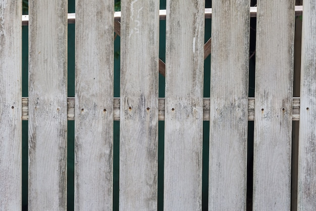White old wooden fence background